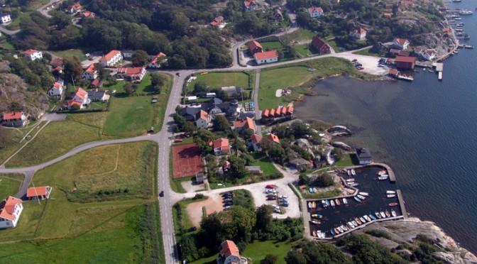 Flygfoto Nösund